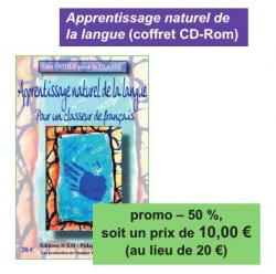 Promo Pour un apprentissage naturel de la langue
